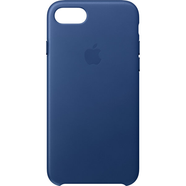Pouzdro Apple Leather Case iPhone 7 - safírové MPT92ZM/A Safírová