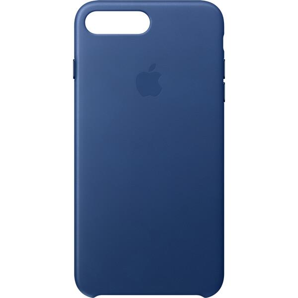 Pouzdro Apple Leather Case iPhone 7 Plus - safírové Safírová
