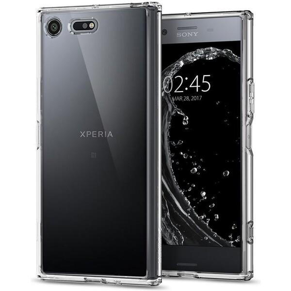 Spigen Ultra Hybrid pouzdro Sony Xperia XZ Premium čiré