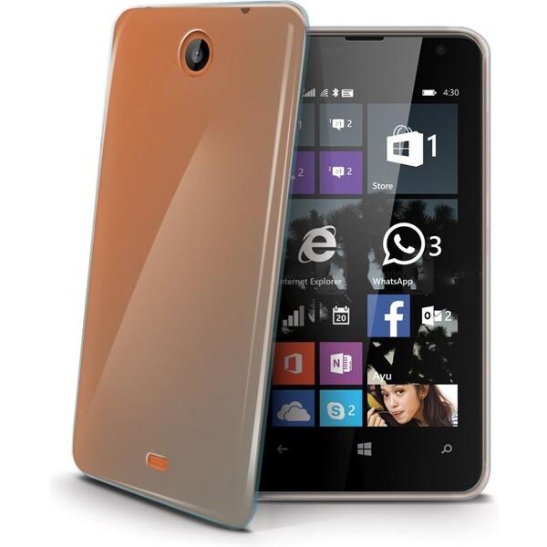 CELLY Gelskin pouzdro Microsoft Lumia 430 čiré
