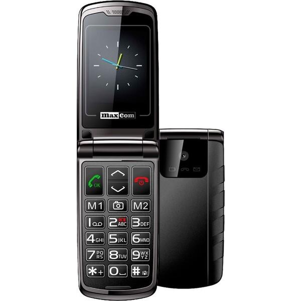 MAXCOM MM822 pro seniory černý