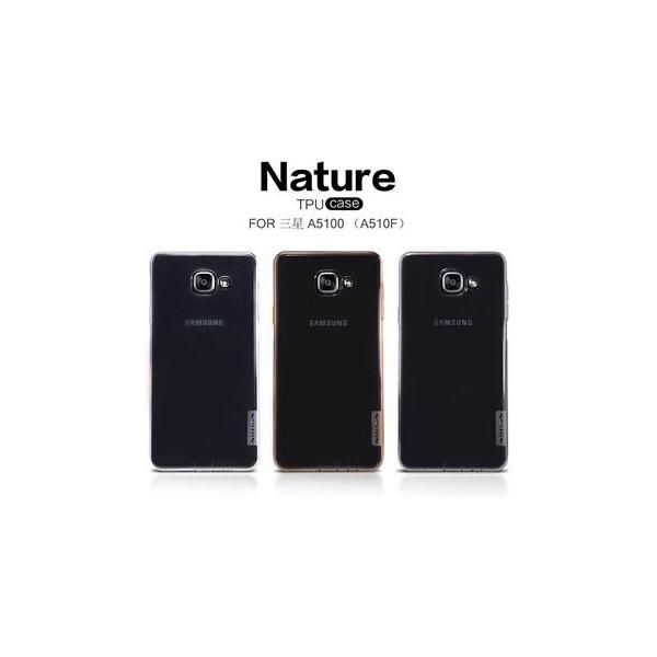 Nillkin Nature TPU pouzdro Samsung Galaxy A5 (2016) šedé
