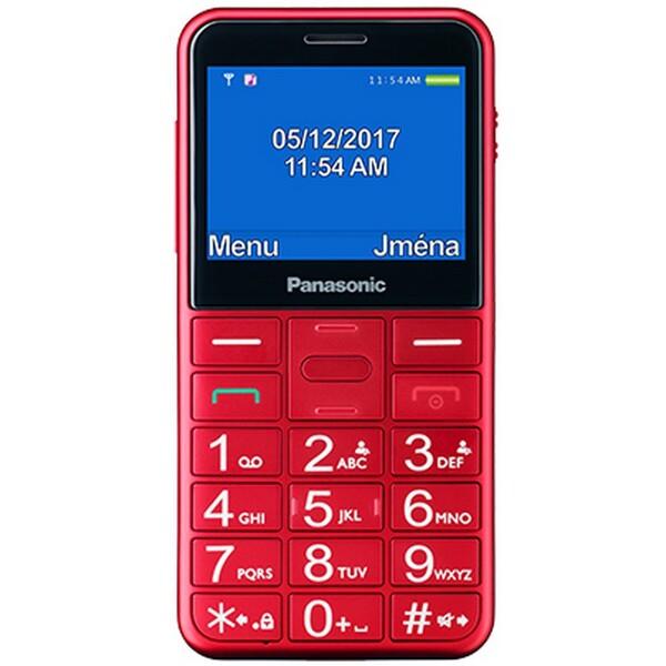 Panasonic KX-TU150EXR červený
