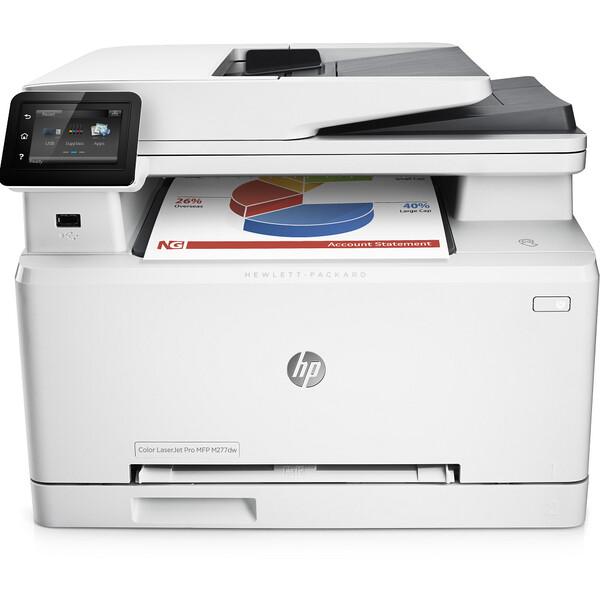 HP Color LaserJet Pro MFP M277dw AirPrint laserová tiskárna a kopírka se skenerem bílá