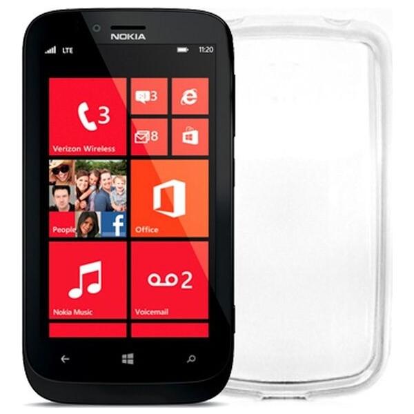 Pouzdro CELLY Gelskin Nokia Lumia 630 čiré Čirá