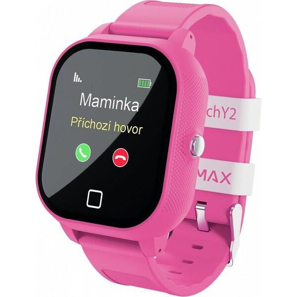 LAMAX WatchY2 dětské chytré hodinky růžové
