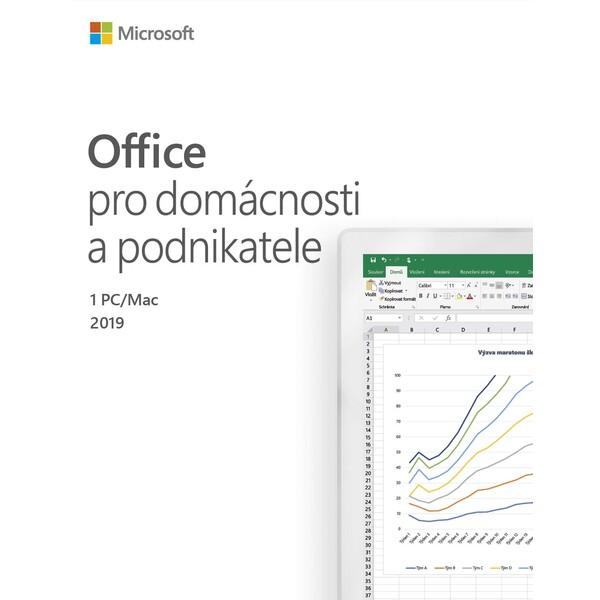 Microsoft Office pro domácnost a podnikatele 2019 CZ