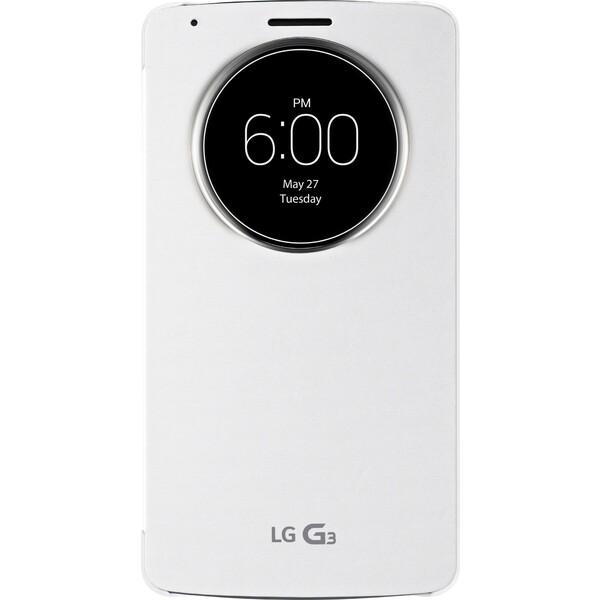 Pouzdro LG CCF-345G bílé Bílá