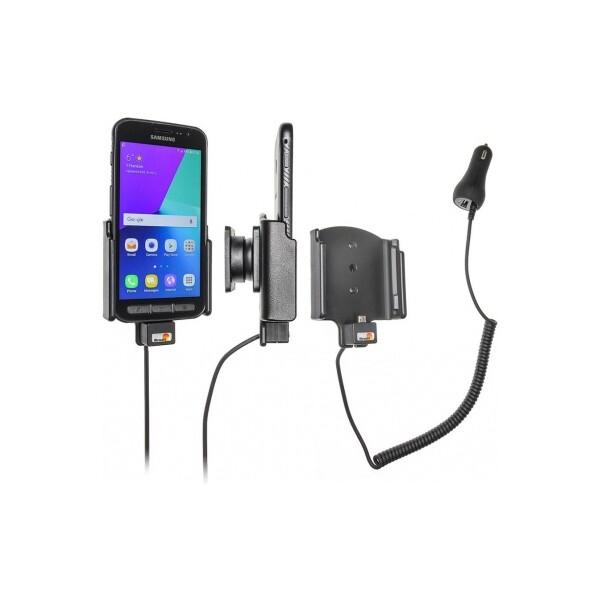 Brodit držák do auta na Samsung Galaxy Xcover 4 s nabíjením z cig. zapalovače 512958 Černá