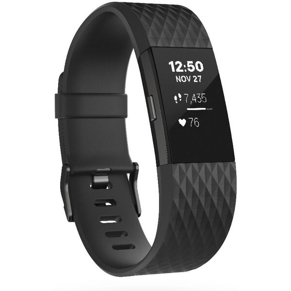 Fitbit Charge 2 S Černá