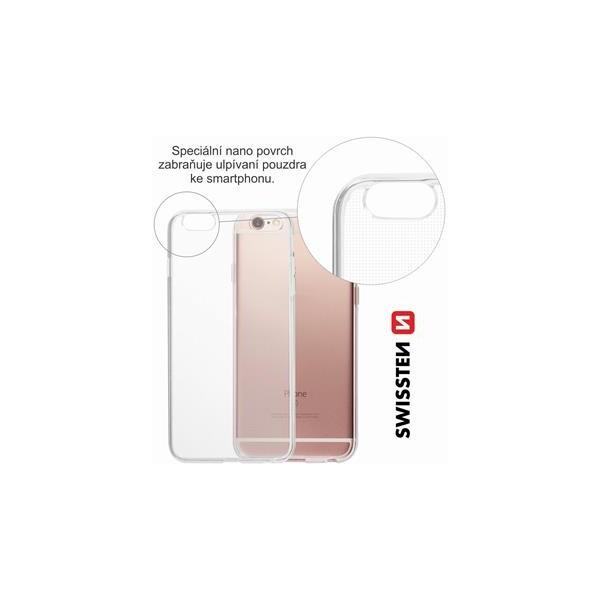 Swissten Clear Jelly kryt Apple iPhone 5 5S SE čiré 48387a75a57