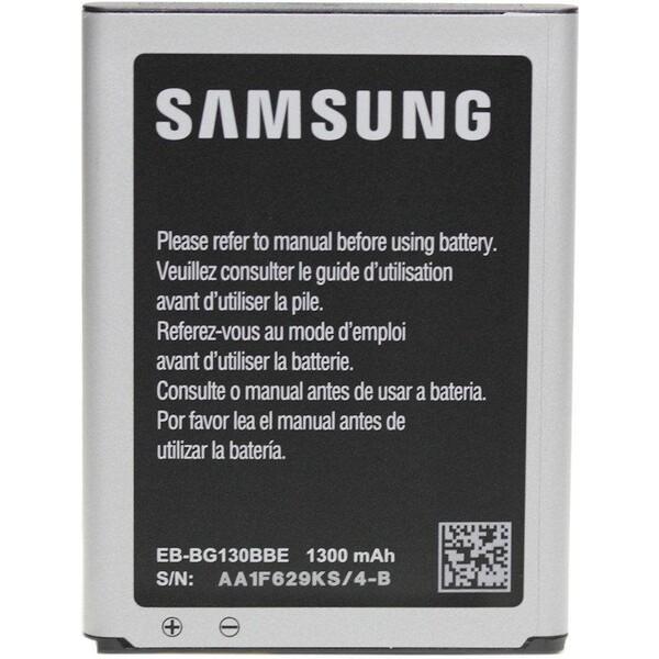 Baterie Samsung EB-BG130BBE Černá