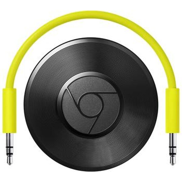 Google Chromecast Audio Černá