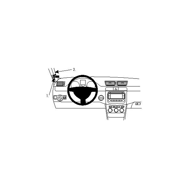 Brodit ProClip montážní konzole pro Volkswagen Passat 12-12