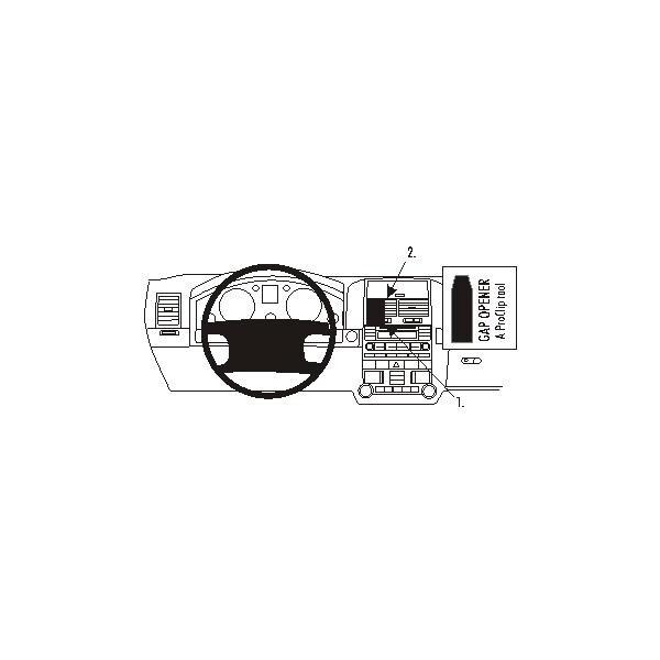 Brodit ProClip montážní konzole pro Volkswagen Touareg 03-06