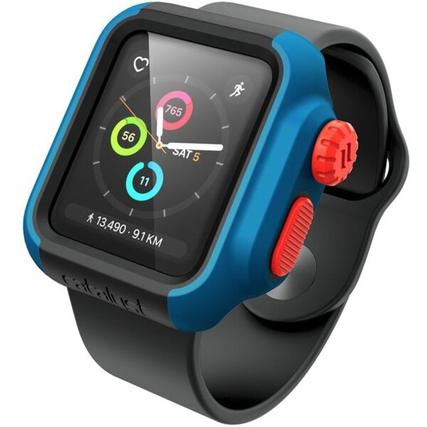 Catalyst Impact Protection C. pouzdro na Apple Watch 2/3 38mm modré