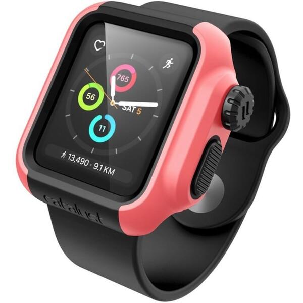 Catalyst Impact Protection C. pouzdro na Apple Watch 2/3 38mm růžové