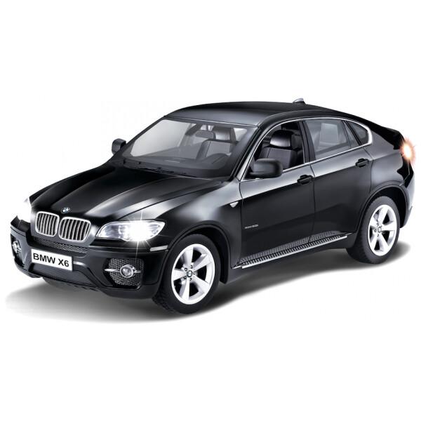 iCess BMW X6 bluetooth model auta 1:16 černý