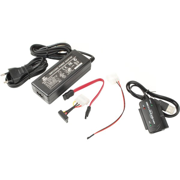 PremiumCord konvertor USB 2.0 - IDE + SATA
