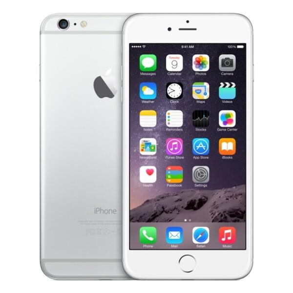 Apple iPhone 6 Plus, 128GB Stříbrná