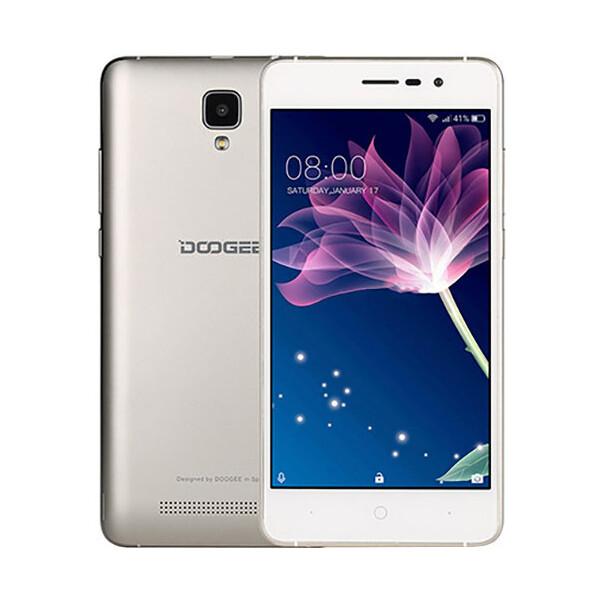DOOGEE X10 zlatý