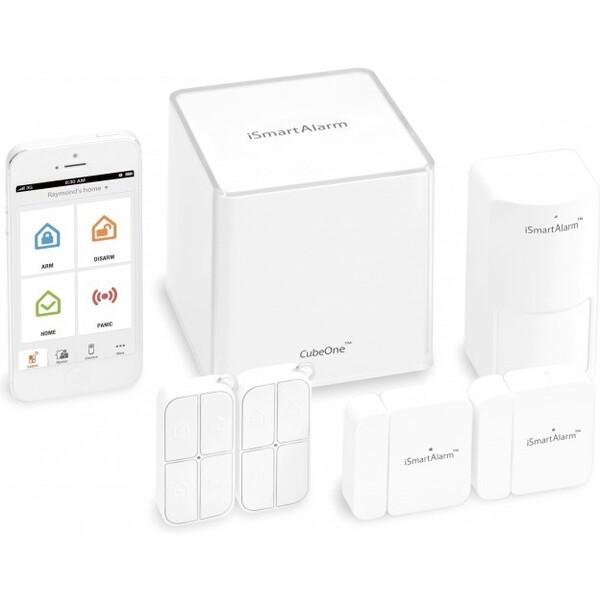 iSmartAlarm - bezdrátový domácí alarm (ISA3G) Bílá