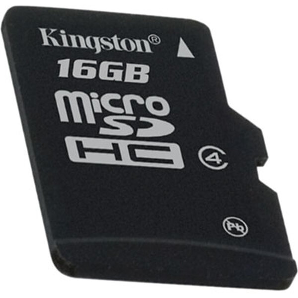 Kingston microSDHC 16GB Class 4 (eko balení)
