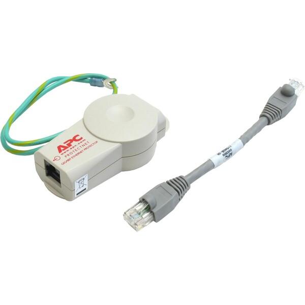 APC ProtectNet pro 10/100/1000 Base-T Bílá