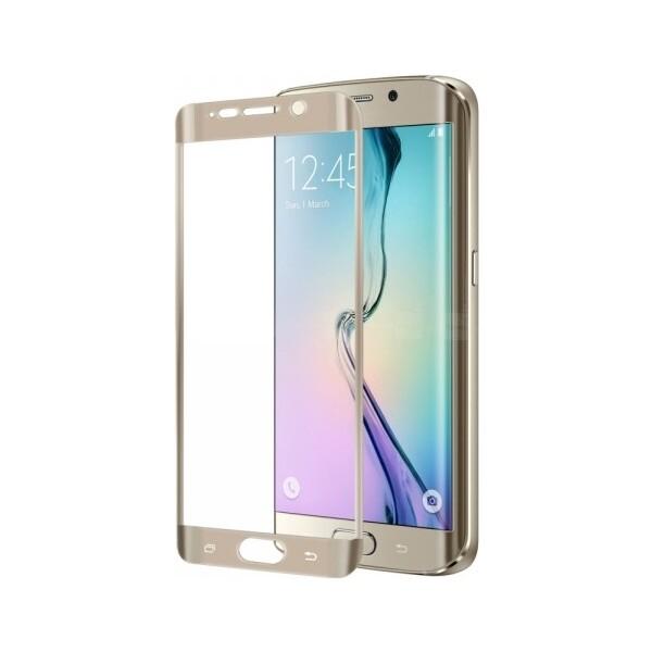 Smarty tvrzené sklo celý displej Samsung Galaxy Note 7 zlaté