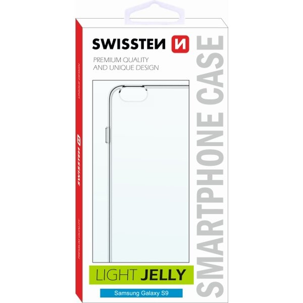 Swissten Light Jelly pouzdro Samsung G390F Galaxy Xcover 4 čiré