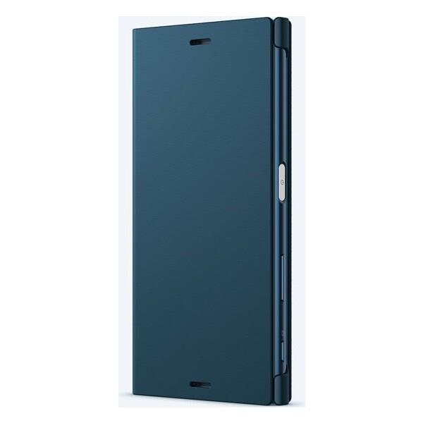 Sony SCSF10 Style Cover flipové pouzdro Sony Xperia XZ modré