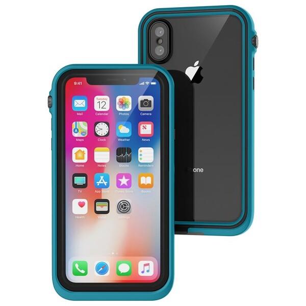 Pouzdro CATALYST Waterproof APPLE iPhone X Modrá
