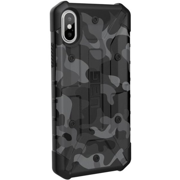 Pouzdro UAG pathfinder case Apple iPhone X Tmavě šedá