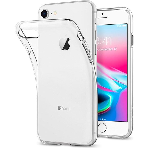 Pouzdro Spigen Liquid Crystal Apple iPhone 7 Čirá