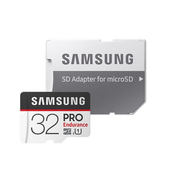 Samsung PRO endurance Micro SDHC 32GB + SD adaptér