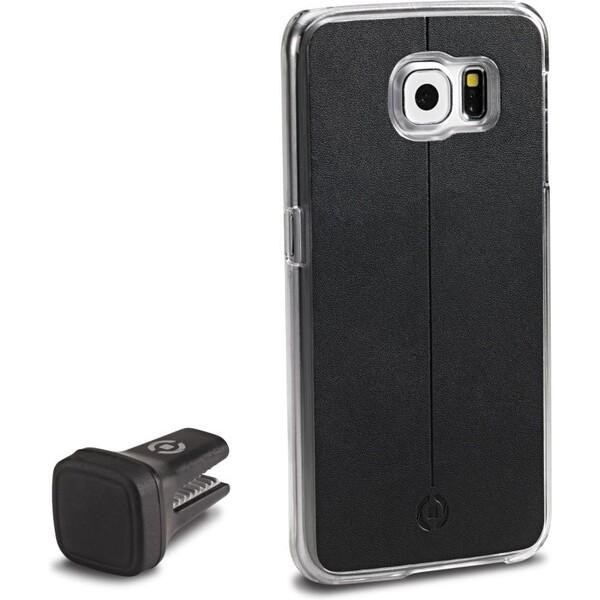 CELLY Smart Drive magnetický držák Samsung Galaxy S6 černý