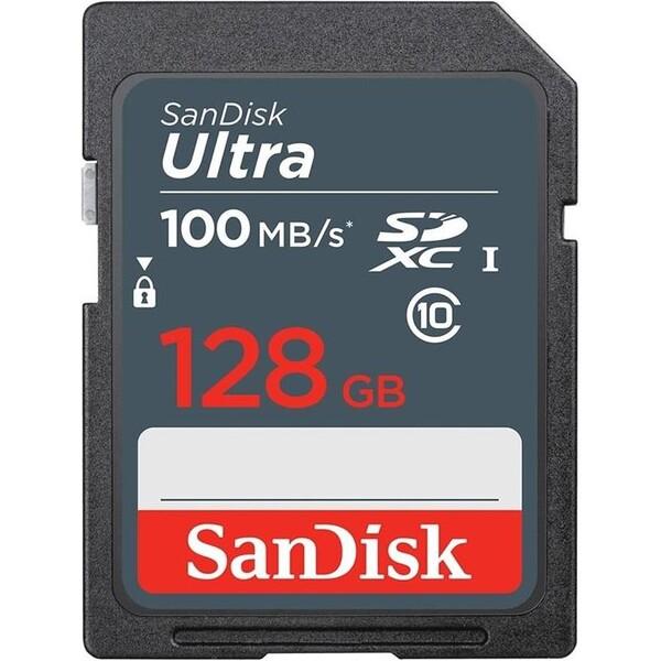 SanDisk Ultra Class 10 UHS-I SDHC paměťová karta 128GB