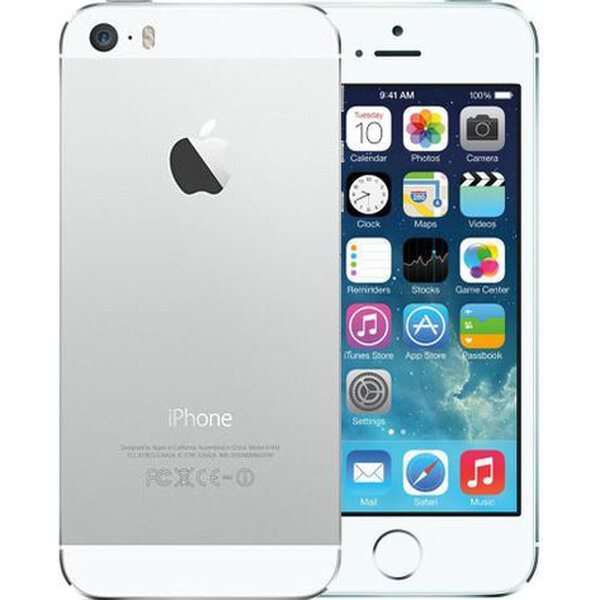 Apple iPhone 5S, 16GB Stříbrná