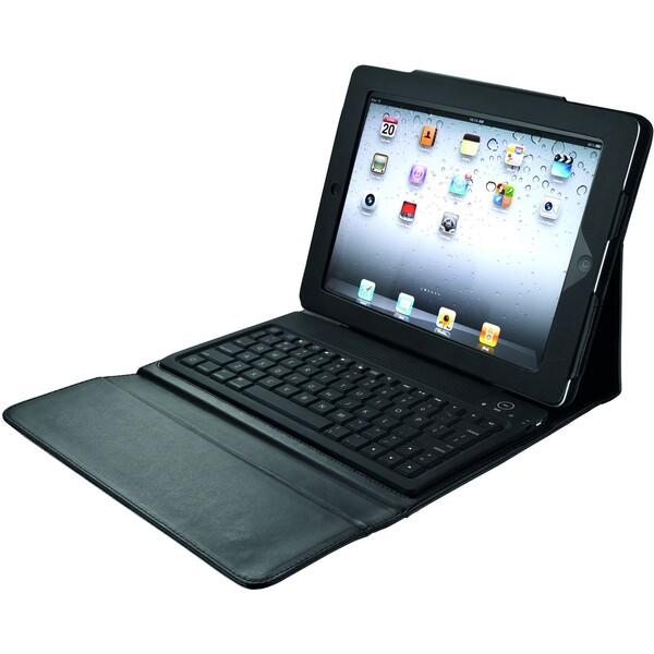 TRUST Folio Stand pouzdro s klávesnicí pro iPad černé