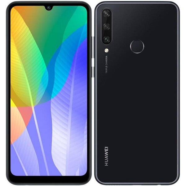 Huawei Y6p 3GB+64GB Dual SIM Midnight Black