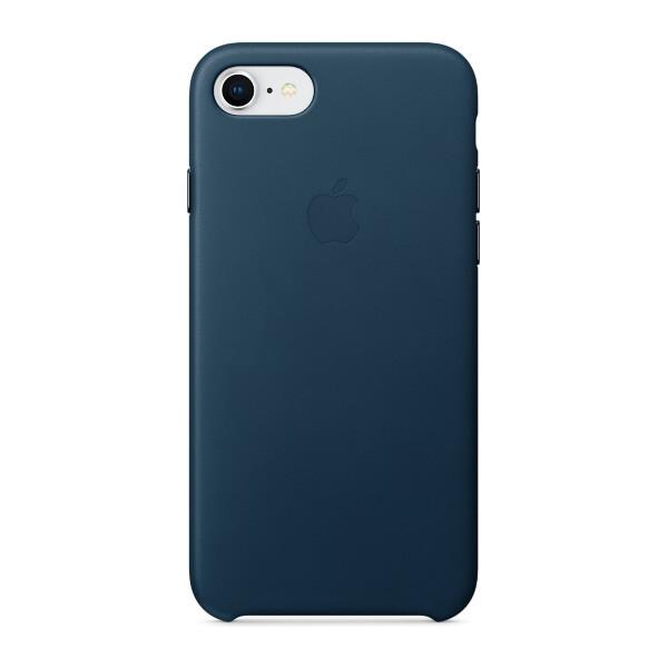 Pouzdro Apple kožené iPhone 8/7 vesmírně modré Vesmírně modrá