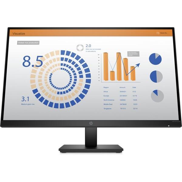 """HP P27q G4 monitor 27"""" černý"""