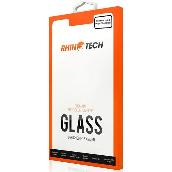 RhinoTech 2 Edge Glue 2.5D tvrzené sklo Xiaomi Redmi Note 8T černé