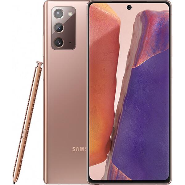 Samsung Galaxy Note20 bronzový