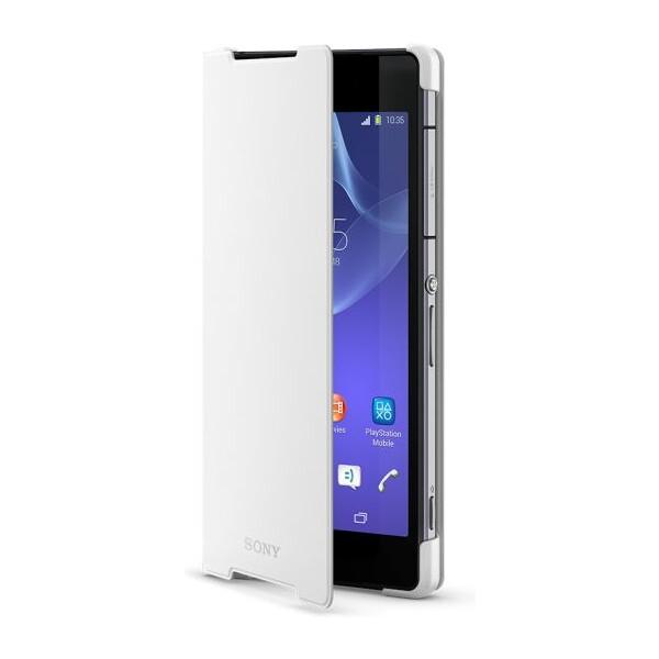 Sony SCR10 Style Cover Xperia Z2 bílý