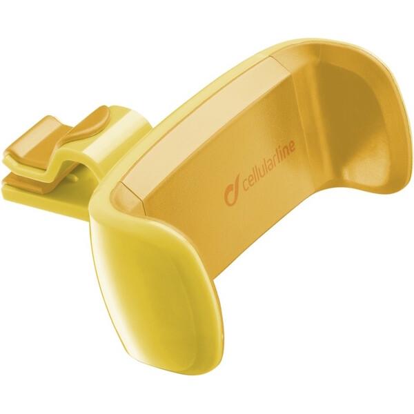 CellularLine držák do auta STYLE&COLOR žlutý HANDYSMARTY Žlutá