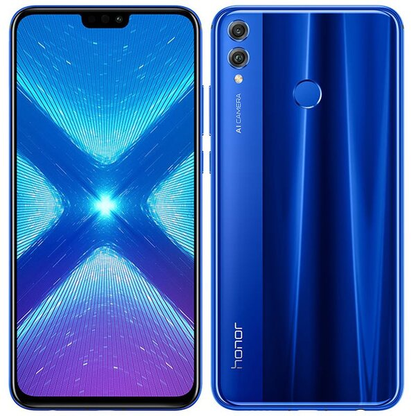 Honor 8X 4GB/64GB Dual SIM Modrá