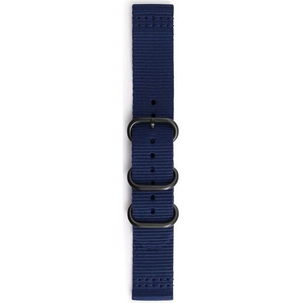 Samsung textilní řemínek Braloba Samsung Gear Sport modrý GP-R600BREECAB Modrá