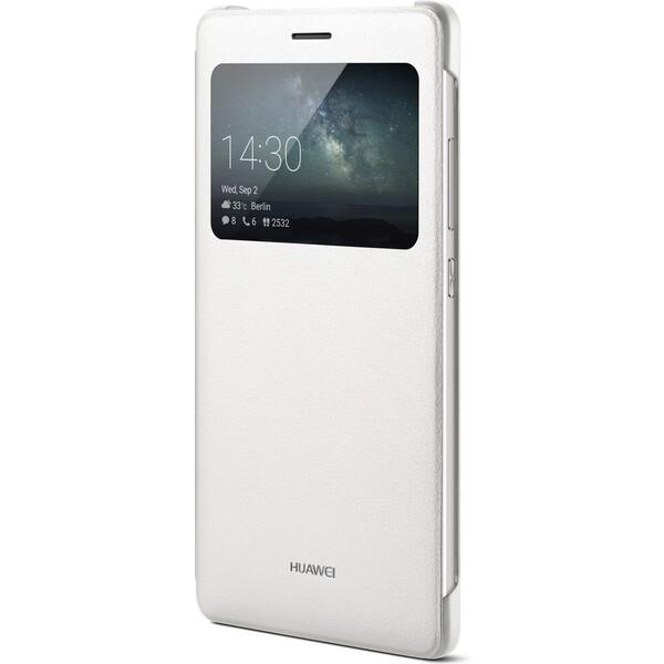 Pouzdro Huawei Original S-View Mate S bílé Bílá