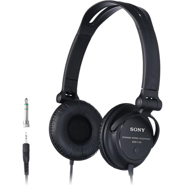 Sony MDR-V150 Černá